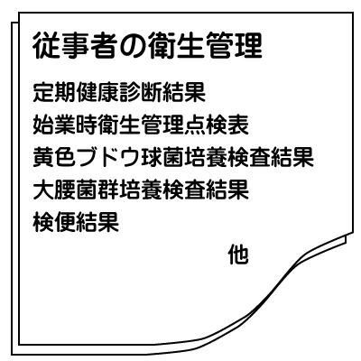 HACCP書類1